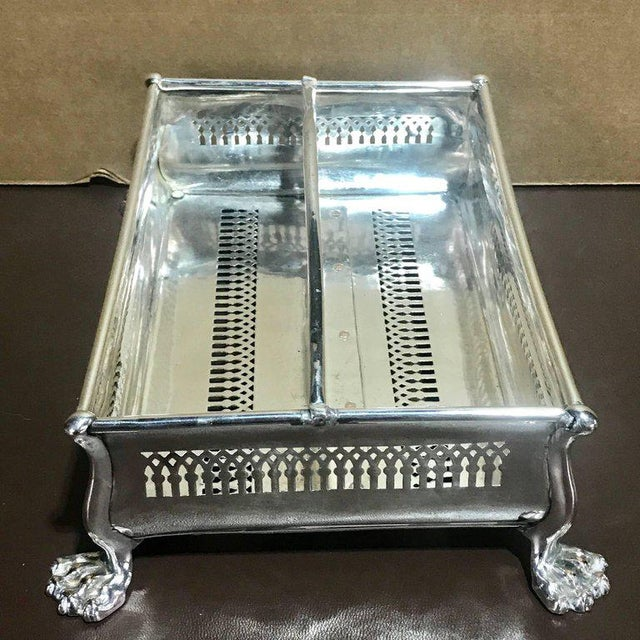 Rare Sheffield Plate Cutlery Box For Sale In West Palm - Image 6 of 10