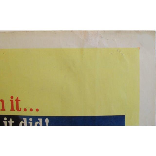 "1964 Original American Movie Poster - ""Joy House"" (Les Félins) With Jane Fonda & Alain Delon For Sale - Image 4 of 7"