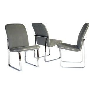 Design Institute of America Dining Chairs - Set of 3 For Sale