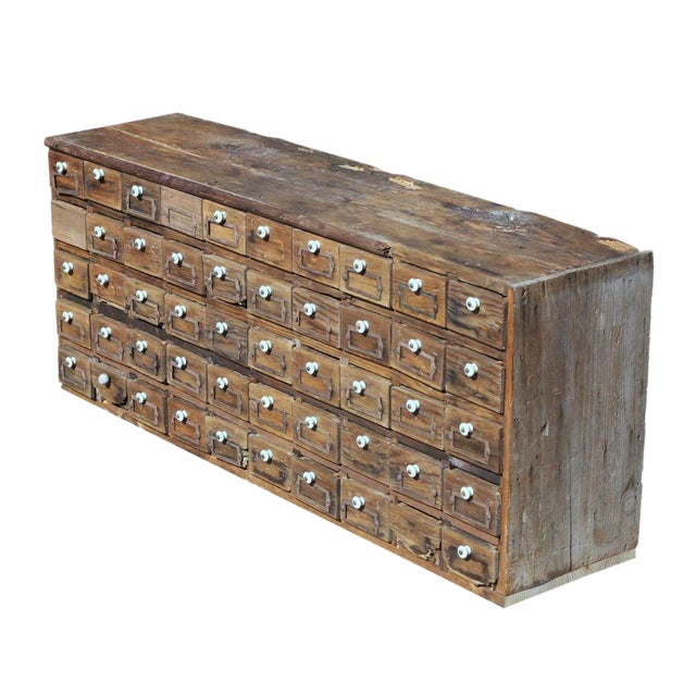 Apothecary Furniture For Sale: Vintage 1900s Apothecary Cabinet