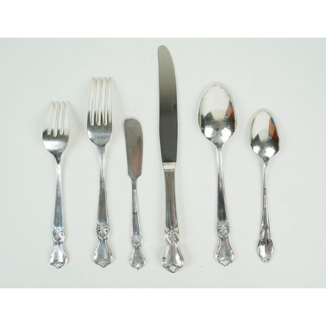 These was my grandmothers silver plated flatware. She was a wonderful cook and set beautiful tables. These are gently...