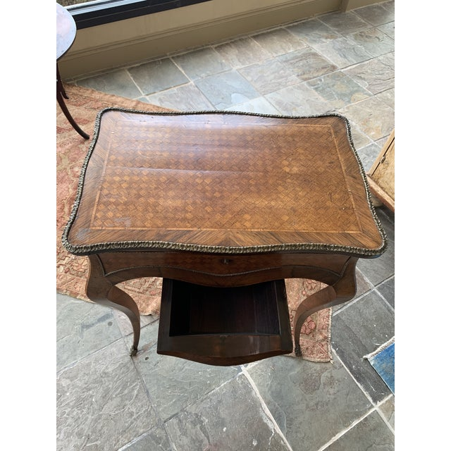 19th Century French Louis XV Style Vanity For Sale - Image 11 of 13