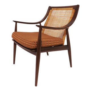 Danish Lounge Chair by Hvidt & Mølgaard-Nielsen for France & Daverkosen For Sale