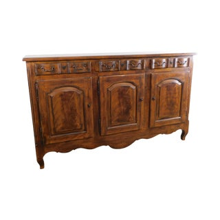 Drexel Heritage French Country Style Large 3 Door Buffet Sideboard (B) For Sale