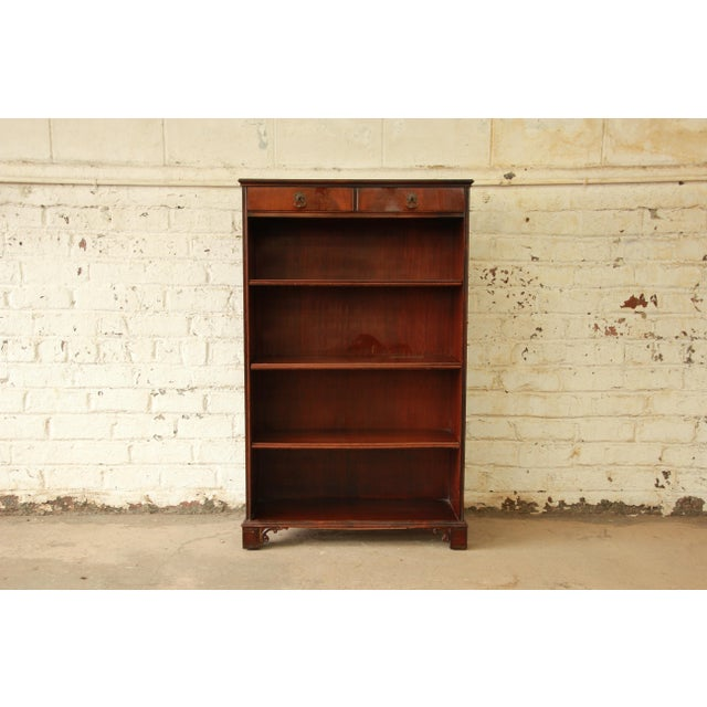 Vintage Imperial Mahogany Bookcase - Image 3 of 8