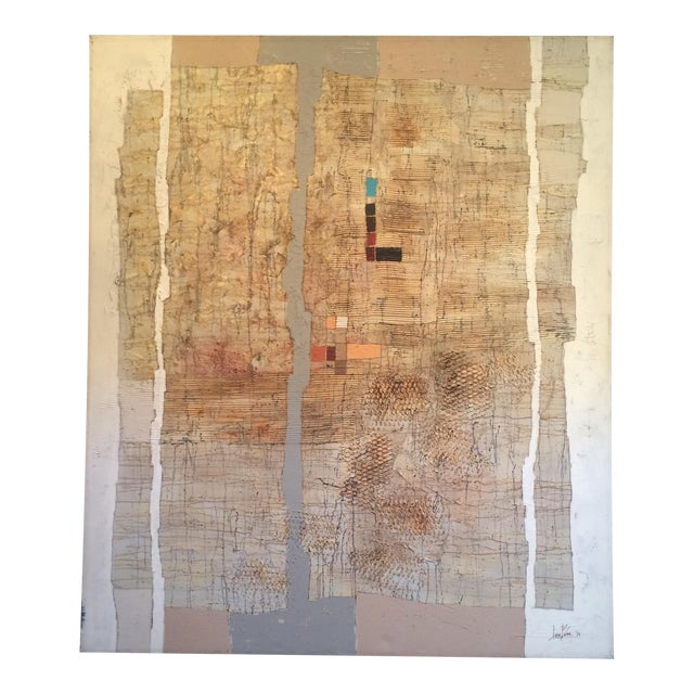 Abstract Contemporary Mixed Media by Lee Burr - Image 1 of 11