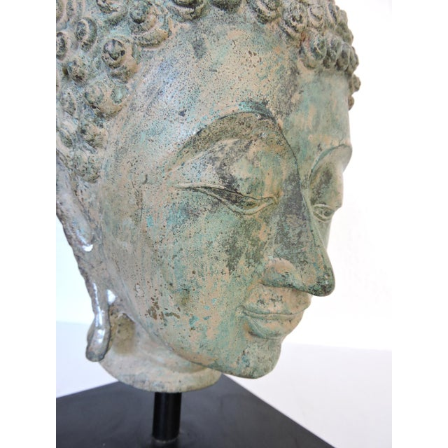 Mounted Bronze Representation of Buddha (Sukhothai), Thailand For Sale In Tampa - Image 6 of 7
