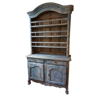 18th Century Painted Vaisselier For Sale