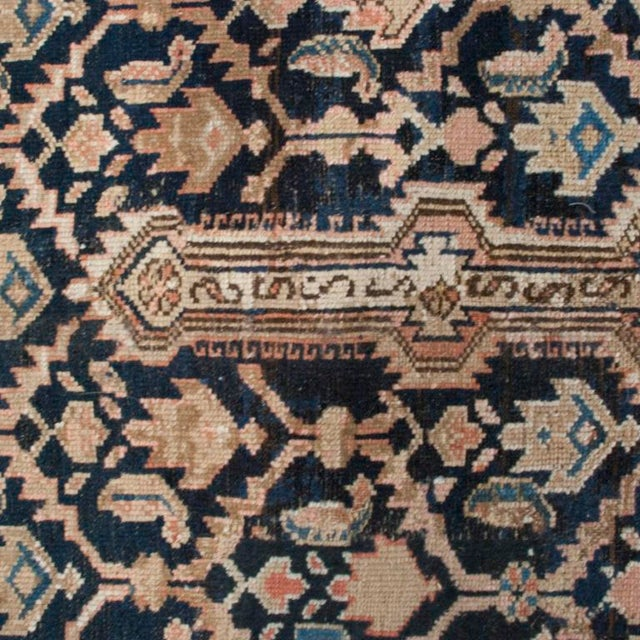 """Antique Malayer Carpet - 5'3"""" x 11'10"""" For Sale In Chicago - Image 6 of 6"""