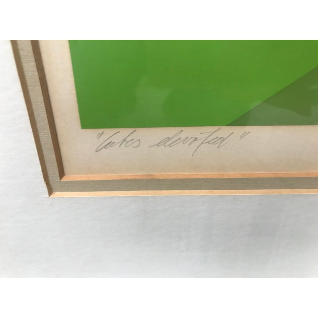 """Marko Spalatin 1971 Serigraph """"Cubes Devoted"""" Signed and Numbered - Image 7 of 9"""