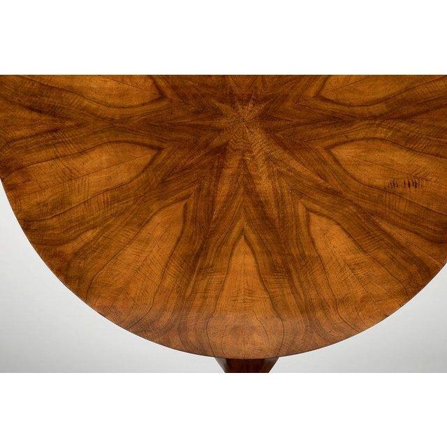 Traditional Fine Biedermeier Figured Walnut Centre Table For Sale - Image 3 of 8