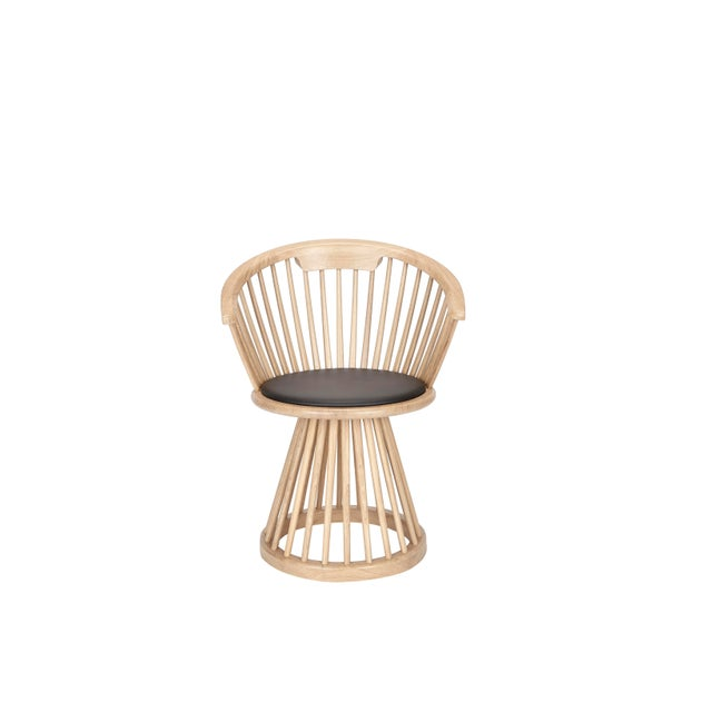 2010s Tom Dixon Fan Dining Chair Natural For Sale - Image 5 of 5