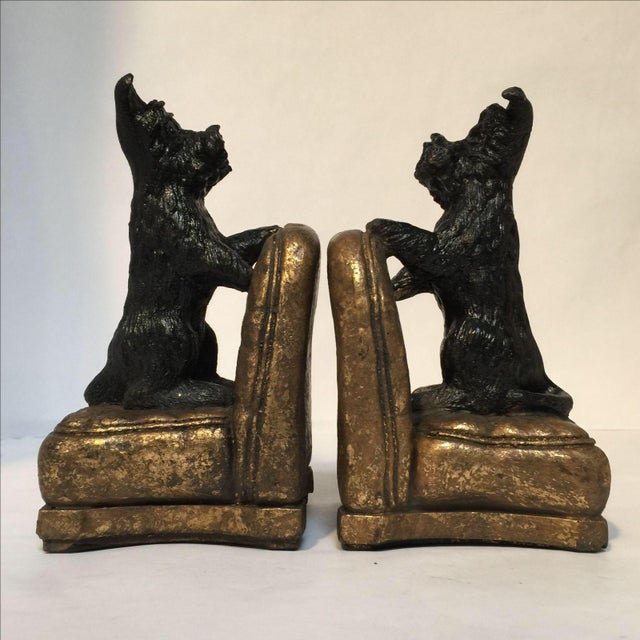 Scottie Dog Bookends - A Pair - Image 6 of 8