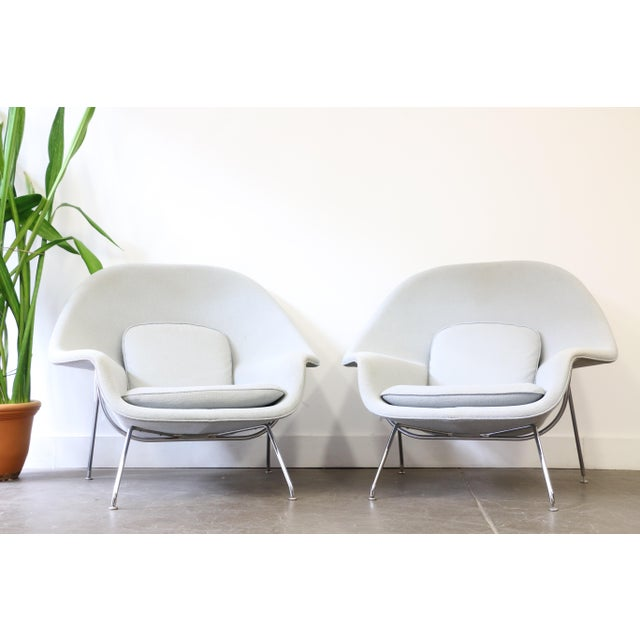 Pair of Knoll Womb Chairs by Eero Saarinen For Sale - Image 12 of 12