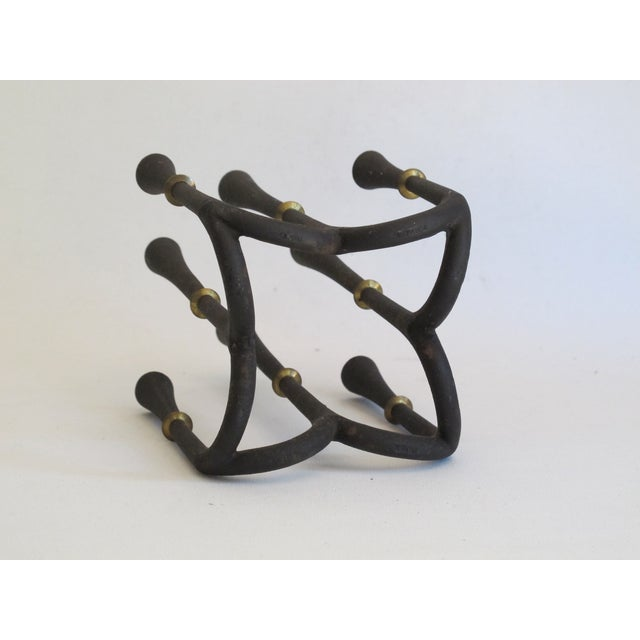 Danish Modern Metal Candelabra - Image 7 of 8