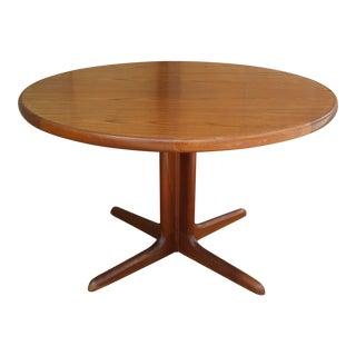 Mid-Century Modern Sl Mobler Teak Dining Table For Sale
