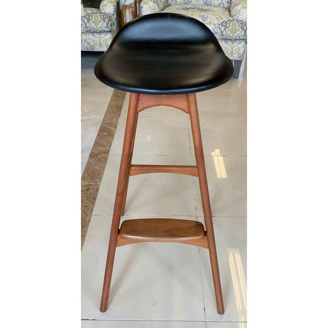 Wood Eric Buch Danish Modern Stools - A Pair For Sale - Image 7 of 13