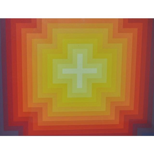 Jurgen Peters Op Art Serigraph C.1970's - Image 3 of 7