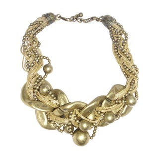 Kenneth Jay Lane Vintage Bib Necklace