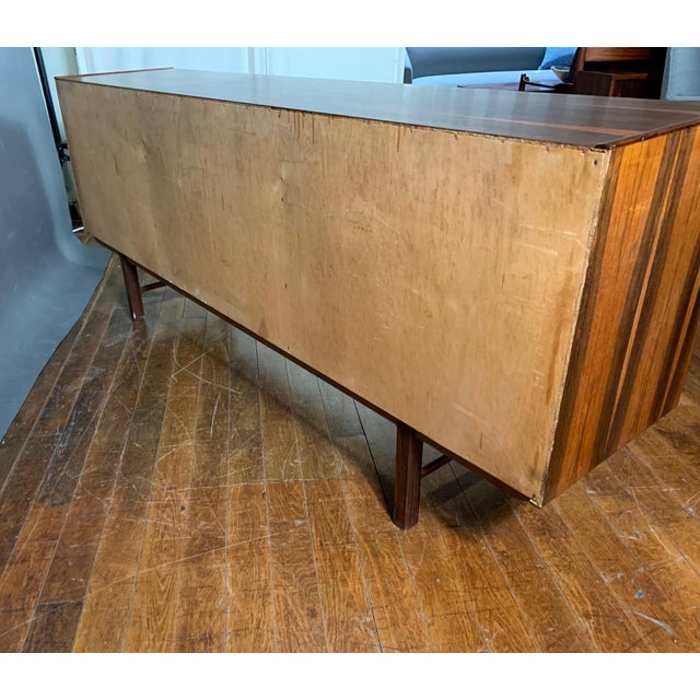 "Erik Wørts ""Ladoga"" Rosewood Credenza, Sweden 1960s For Sale - Image 10 of 11"