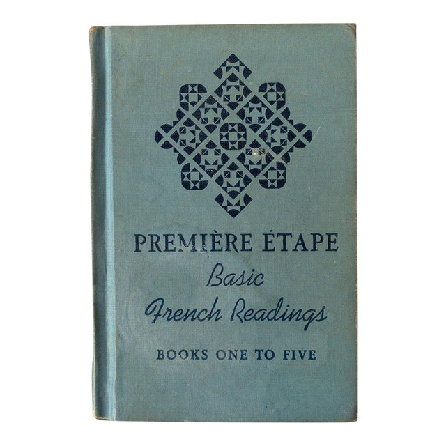 """""""Premiere Etape: Basic French Readings"""" French School Book For Sale"""