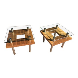 BDI USA Modern Side Tables - A Pair