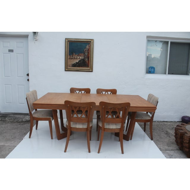 Heywood-Wakefield Dog Bone Chairs - Set of 6 For Sale - Image 11 of 11