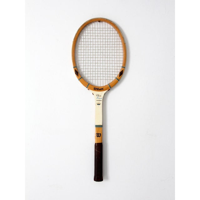 1970s Wilson Chris Evert Tennis Racquet For Sale - Image 12 of 12