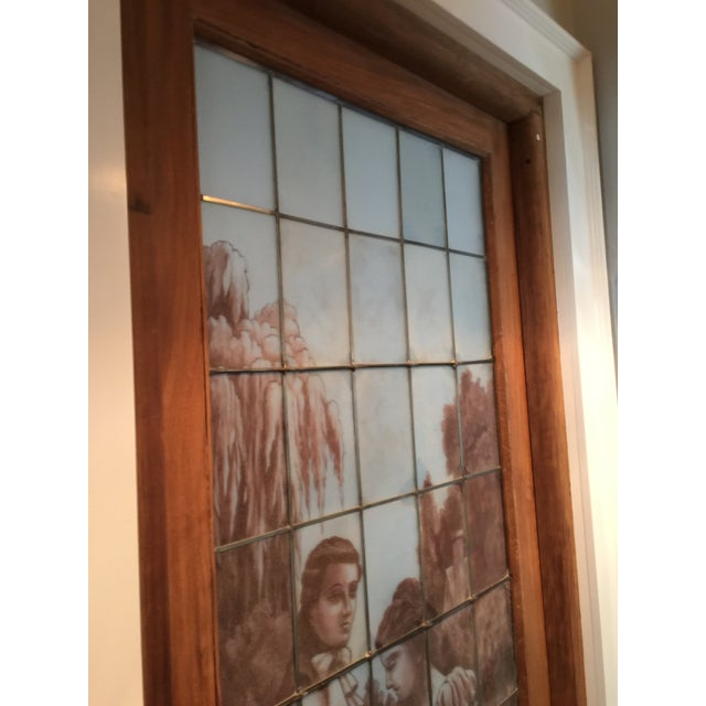 Antique Stained Glass Door For Sale. Absolutely stunning , one-of-a-kind,  mid-19th century large - Antique Stained Glass Door Chairish