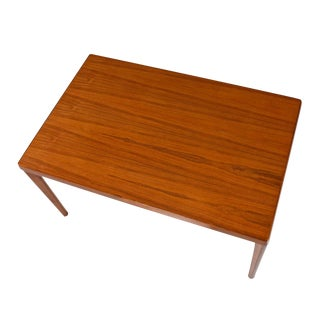 Vejle Stole Danish Modern Teak Draw Leaf Expanding Dining Table For Sale