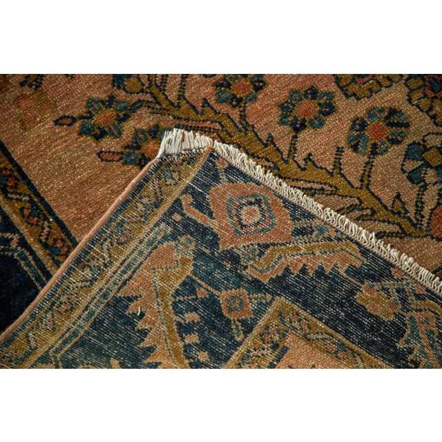 "Antique Lilihan Square Rug - 5' X 5'9"" - Image 8 of 9"
