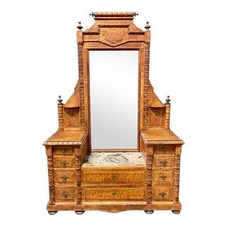 Rj Horner Vanity Dresser With Mirror For Sale