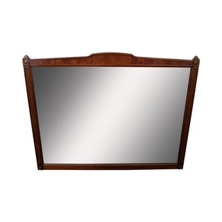Kindel Belvedere Regency Style Fruitwood Mirror For Sale