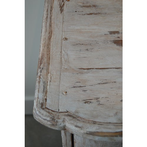 Paint Italian White Painted Three Drawer Chest For Sale - Image 7 of 12