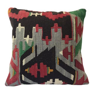 1960s Turkish Style Kilim Cushion For Sale