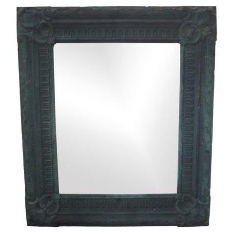 19th Century Copper Repoussé Wall Mirror For Sale - Image 5 of 5