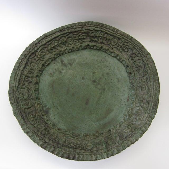 Large Ceramic Green Bowl - Image 8 of 11