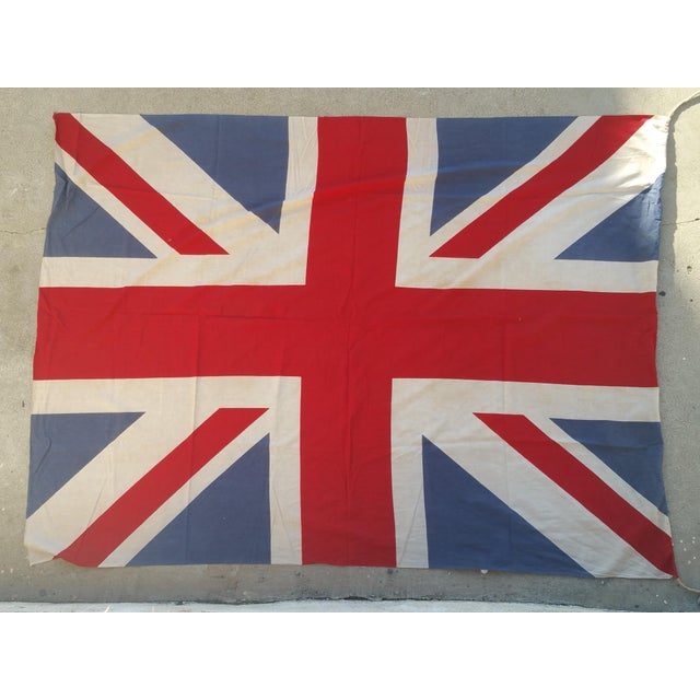 "72"" Vintage British Flag - Image 2 of 4"