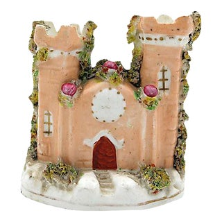 Antique Porcelain Staffordshire Castle For Sale
