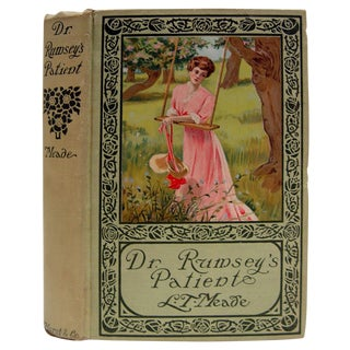 1896 Dr. Rumsey's Patient Book For Sale