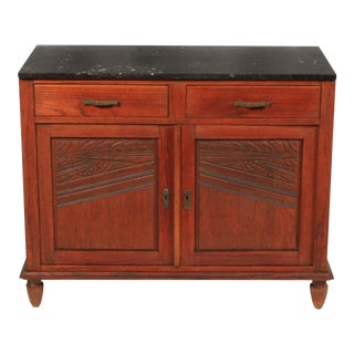 1920s Arts and Crafts Belgian Buffet For Sale