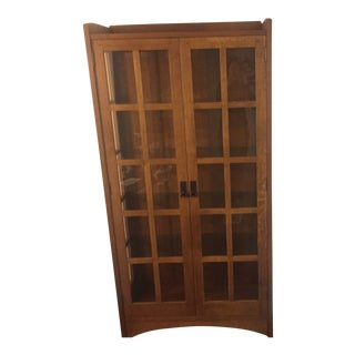 Stickley China Display Cabinet For Sale