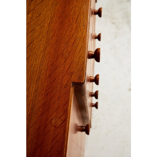Midcentury English Oak Sideboard For Sale - Image 11 of 13