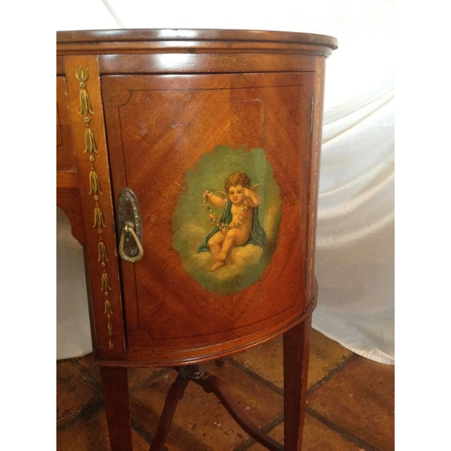 Brown 19th Century English Adam Style Vanity For Sale - Image 8 of 13