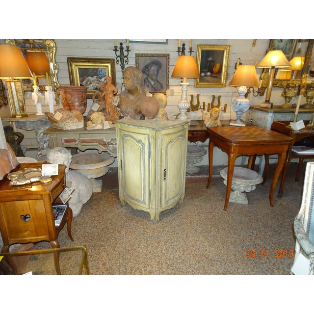 Pair of French Corner Cabinets For Sale - Image 10 of 11