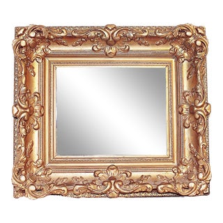 Antique Gilt Gold Mirror For Sale