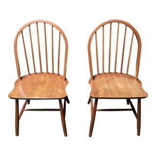 Pair of Tarm Stole Danish Side Chairs