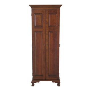 Traditional Madison Square Adams Country Collection Cherry 2 Door Cabinet For Sale