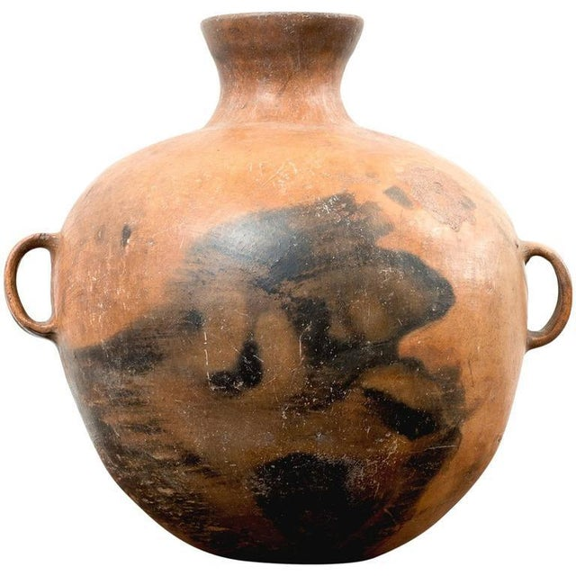 Large 19th Century Guatemalan Water Pot With Three Handles For Sale - Image 9 of 10