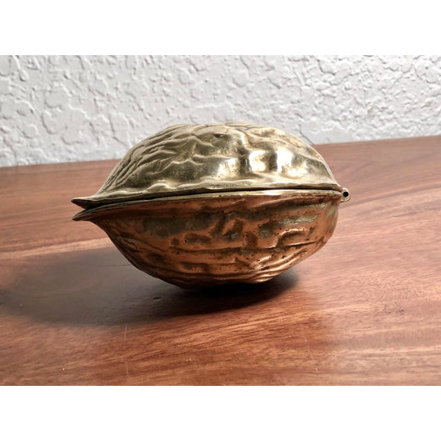 Mid 20th Century Solid Brass Walnut Cracker For Sale - Image 11 of 13